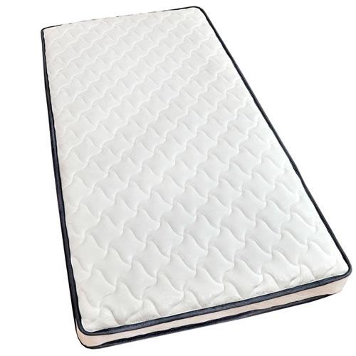タンスのゲン ポケットコイルマットレス 厚み18cm シングル 高密度 コイル数465個 圧縮梱包 ホワイト AM  腰痛マットレス